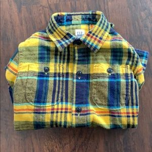 GAP Kids boys flannel